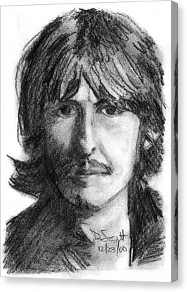 George Harrison Canvas Print by Daniel Scott