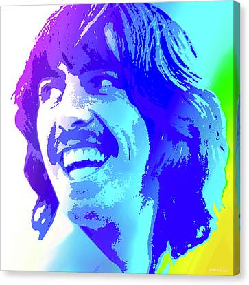 George Harrison Canvas Print by Greg Joens