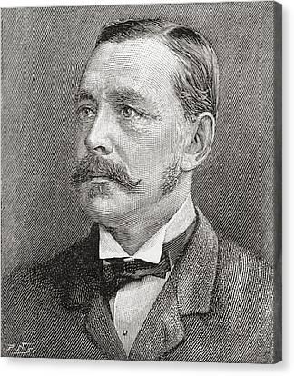 George Robert Canning Harris, 4th Baron Canvas Print