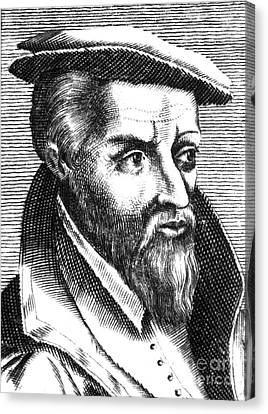 Georgius Agricola, German Scholar Canvas Print by Science Source