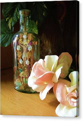 Canvas Print featuring the photograph Gifts Momma Left Me by Alga Washington