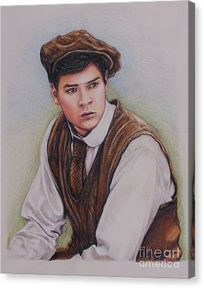 Gilbert Blythe / Jonathan Crombie Canvas Print
