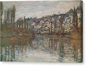 Giverny Canvas Print by Claude Monet