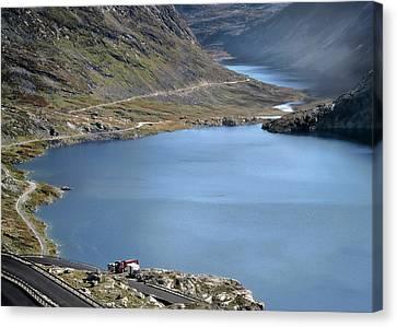 Glacial Lake Canvas Print by Jim Hill