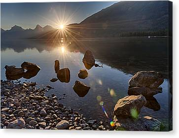 Glacier National Park 100th Anniversery Canvas Print by Kevin Blackburn