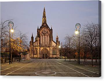 Glasgow Cathedral Canvas Print by Grant Glendinning