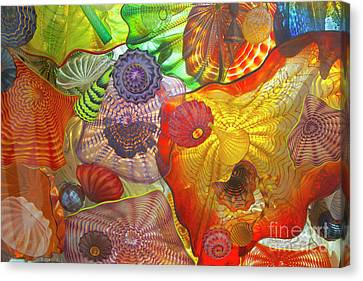 Glass Art.  Canvas Print by Gino Rigucci