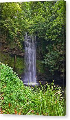 Glencar Waterfall Is Situated Canvas Print by Panoramic Images