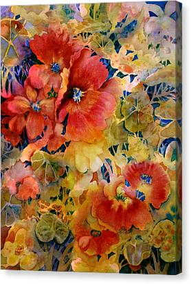 Glow Canvas Print by Ann  Nicholson