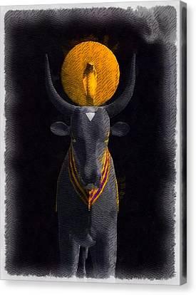 Gods Of Egypt - Apis Canvas Print