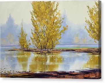 Autumn Scenes Canvas Print - Golden Fall by Graham Gercken