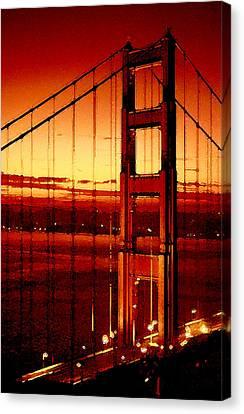 Golden Gate Bridge Canvas Print by Gene Sizemore