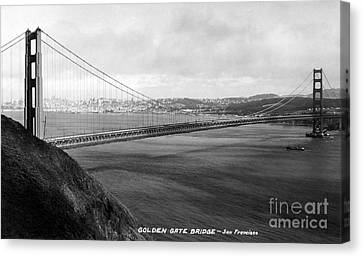 Golden Gate Bridge Canvas Print by Granger