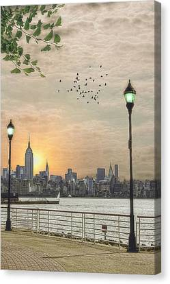 Good Morning New York Canvas Print by Tom York Images
