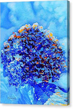 Got The Blues Canvas Print by MaryLee Parker