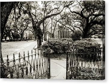 Grace Episcopal Church - St. Francisville Canvas Print