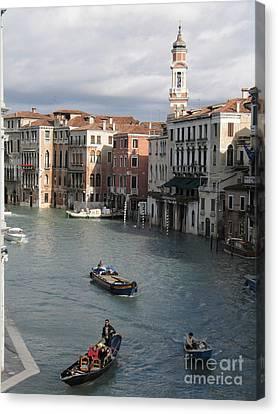 Venise Canvas Print - Gran Canal. Venice by Bernard Jaubert