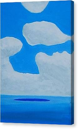 Grand Bahama Cloudscape Canvas Print