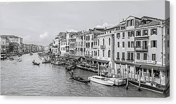 Grand Canal Canvas Print by Gary Finnigan