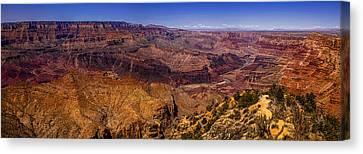 Grand Canyon Panorama Canvas Print by Andrew Soundarajan