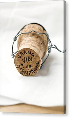 Grand Vin De Champagne Canvas Print