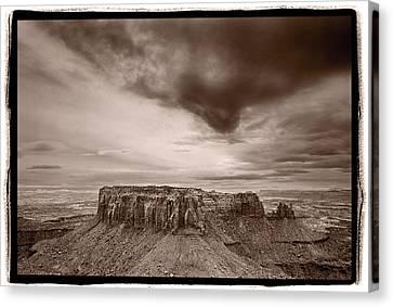 Grandview Canvas Print - Grandview Canyonlands National Park Utah by Steve Gadomski