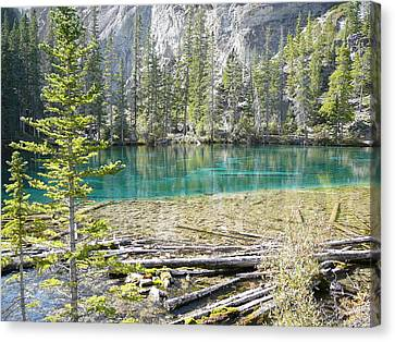 Grassi Lakes Canvas Print
