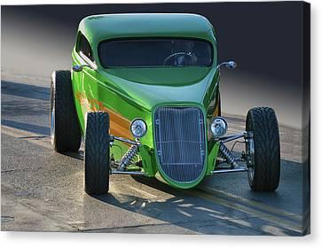 Green Machine Canvas Print by Bill Dutting