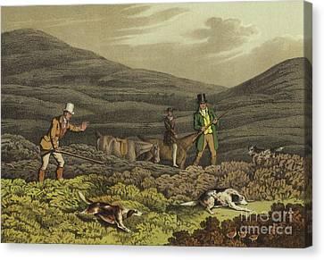 Gunman Canvas Print - Grouse Shooting by Henry Thomas Alken