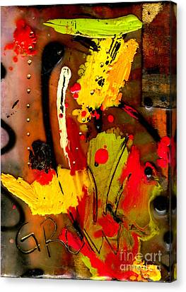 Growing Canvas Print by Angela L Walker