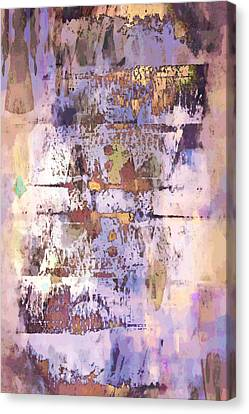 Grungy Abstract  Canvas Print by Tom Gowanlock