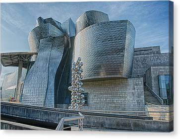Guggenheim Museum Bilbao Spain Canvas Print by James Hammond