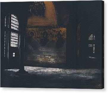Sombre Canvas Print - Hagia Sophia by John Garfitt