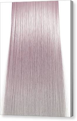 Wavy Canvas Print - Hair Perfect Straight by Allan Swart