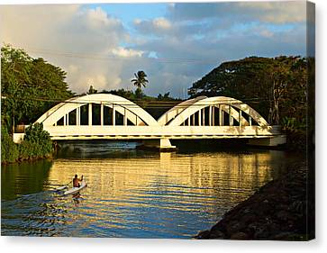 Haleiwa Bridge Canvas Print by Paul Topp