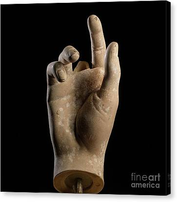 Hand Of Dummy Canvas Print by Bernard Jaubert