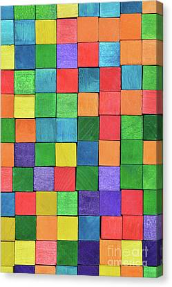 Handicraft Cubes Canvas Print by George Atsametakis