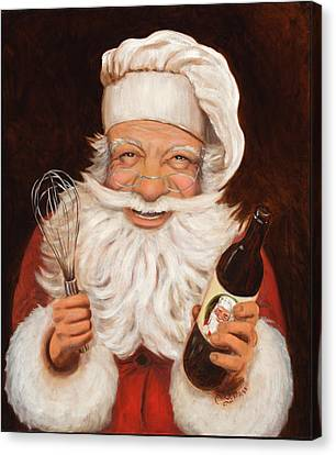 Happy Hollandaise Canvas Print by Cherri Lamarr