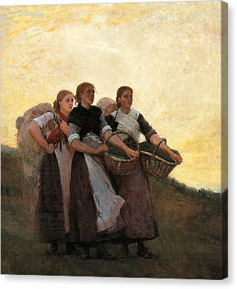 Hark  The Lark Canvas Print