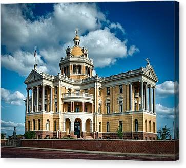 Harrison County Courthouse Canvas Print