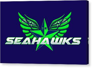 Hawks Wings Canvas Print