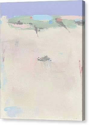 Hazy Beach Day Canvas Print by Jacquie Gouveia