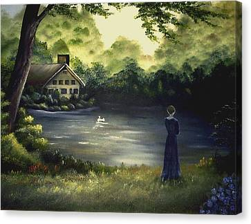 Hearts Secret Canvas Print
