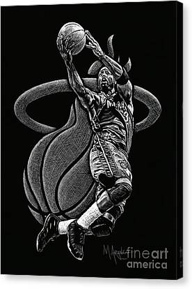 Heat Pride Canvas Print by Maria Arango