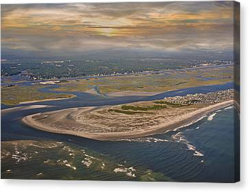 Heaven's View Topsail Island Canvas Print by Betsy Knapp