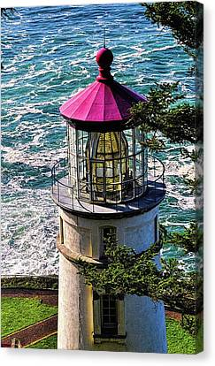 Heceta Head Lighthouse, Oregon Coast 6 Canvas Print