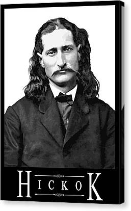 Hickok Canvas Print
