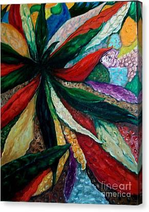 Hidden Jaguar Canvas Print by Thomas Fleming