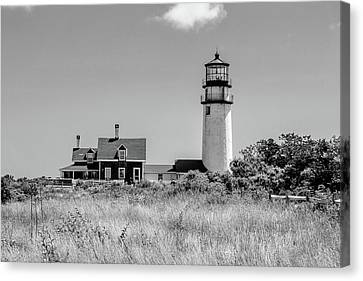 Canvas Print featuring the photograph Highland Light - Cape Cod by Peter Ciro