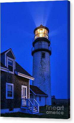 Highland Lighthouse Canvas Print by John Greim
